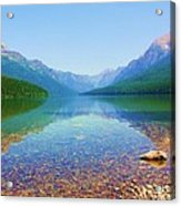 Bowman Lake Acrylic Print