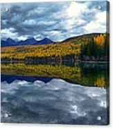 Bowman Lake Quietude Acrylic Print