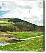 Bowmont Valley Acrylic Print