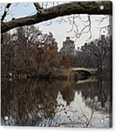 Bows And Arches - New York City Central Park Acrylic Print