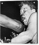 Boxer Near His Limit Acrylic Print