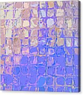 Boxes In Purple And Pink Acrylic Print