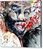 Boxing II Acrylic Print