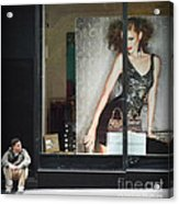 Boy Meets Girl Acrylic Print
