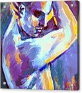 Boy S Figure Acrylic Print