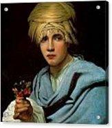 Boy With A Turban Acrylic Print