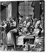 Boycott Of British Tea Acrylic Print