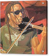 Boyd Tinsley At Red Rocks Acrylic Print