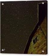 Boylan Creek At Night Acrylic Print