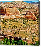 Boynton Overlook On Highway 12 In Grand Staircase-escalante National Monument-utah Acrylic Print