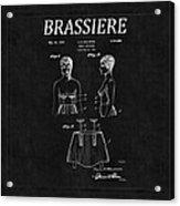 Bra Patent 16 Acrylic Print