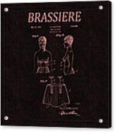 Bra Patent 18 Acrylic Print