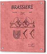 Bra Patent 21 Acrylic Print