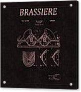 Bra Patent 22 Acrylic Print