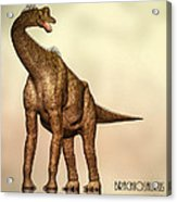 Brachiosaurus Dinosaur Acrylic Print