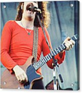 Brad Delp Of Boston-day On The Green 1 In Oakland Ca 5-6-79 1st Release Acrylic Print