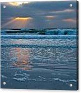 Bradenton Beach Sunset Acrylic Print