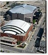 Bradley Center And Us Cellular Arena Acrylic Print