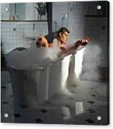 Brads Bath 1 Acrylic Print
