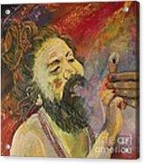 Sadhu Acrylic Print