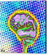 Brain Pop Acrylic Print