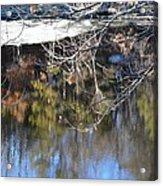 A Wisconsin River Scene Acrylic Print