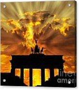 Brandenburg Gate Brandenburger Tor Berlin Germany Acrylic Print