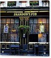 Brandon's Pub Acrylic Print