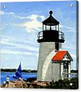 Brant Point Lighthouse Nantucket Massachusetts Acrylic Print