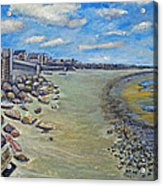Brant Rock Beach Acrylic Print