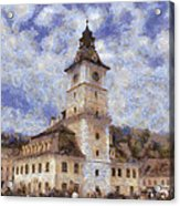Brasov City Hall Acrylic Print