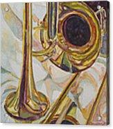Brass At Rest Acrylic Print