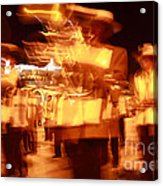 Brass Band At Night Acrylic Print
