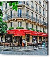 Brasserie De L'isle St. Louis Paris Acrylic Print