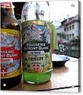 Brasserie Du Mont Blanc Acrylic Print