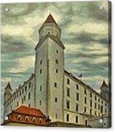 Bratislava Castle Acrylic Print