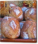 Bread At A French Market Acrylic Print