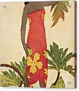 Breadfruit Girl Acrylic Print