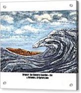 Breaker San Clemente  Acrylic Print
