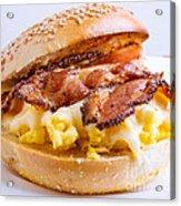 Breakfast Sandwich Acrylic Print