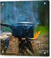 Breakfast Acrylic Print by The Stone Age