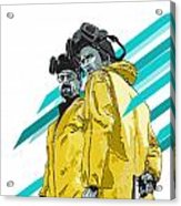 Breaking Bad Acrylic Print by Jeremy Scott