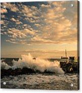 Breaking Waves Iv Acrylic Print