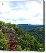 Breaks Interstate Park Virginia Kentucky Rock Valley View Overlook Acrylic Print