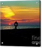 Breakwall Sunset Acrylic Print