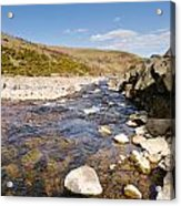 Breamish River Acrylic Print