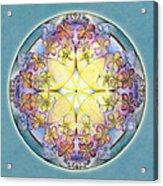 Breath Of Life Mandala Acrylic Print