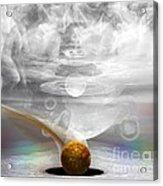 Breathing Life Into A Planet Acrylic Print