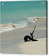 Breathtaking Barbuda Acrylic Print