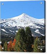 Breckenridge Colorado Acrylic Print